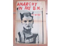 SEX PISTOL RARE FANZINE ANARCHY IN THE UK MAGAZINE NEWSPAPER RIVISTA GIORNALE