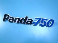 FIAT PANDA 750 scritta posteriore badge