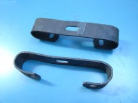 LANCIA FULVIA COUPE due staffe paraurti bumper holders