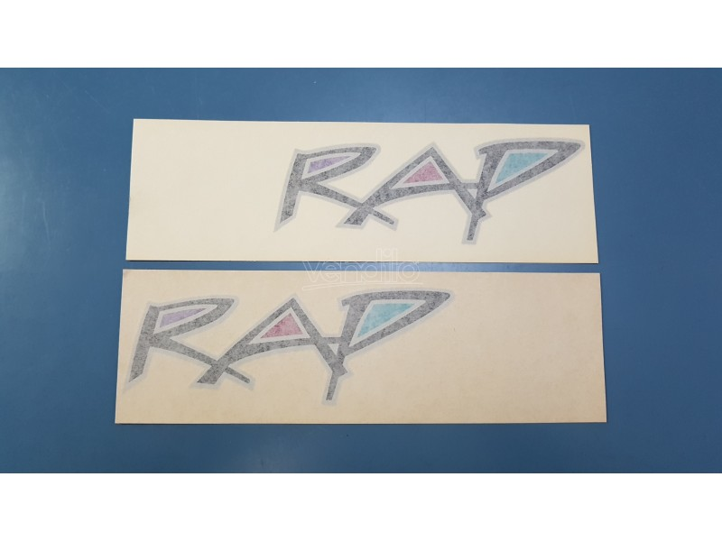 FIAT UNO RAP ADESIVI DECALS STICKERS