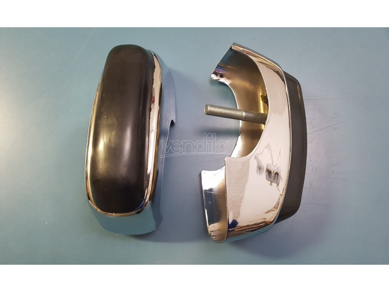 FIAT 850 PULMINO FAMILIARE 2 ROSTRI PARAURTI BUMPERS GUARDS