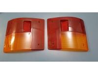 AUTOBIANCHI A112 PLASTICA FARI POSTERIORI REAR LIGHTS