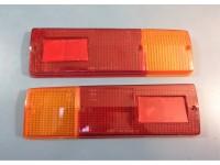 FIAT 124 SPECIAL T PLASTICHE POSTERIORI REAR LENSES ARIC