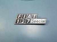 FIAT 127 FIAT 127 SPECIAL SCRITTA POSTERIORE METALLO REAR BADGESCRITTA POSTERIORE REAR BADGE