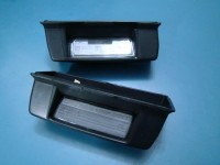 FIAT REGATA GUSCI LUCI TARGA ORIGINALI LICENSE PLATE LIGHTS