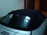 ROVER MG TF cappotta capote nera completa di telaio DSB100220PDA COME NUOVA