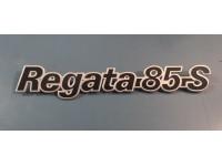 FIAT REGATA 85 S SCRITTA POSTERIORE BADGE