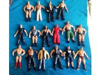 WWE WRESTLING WWF lotto di 16 action figures jakks. batista undertaker